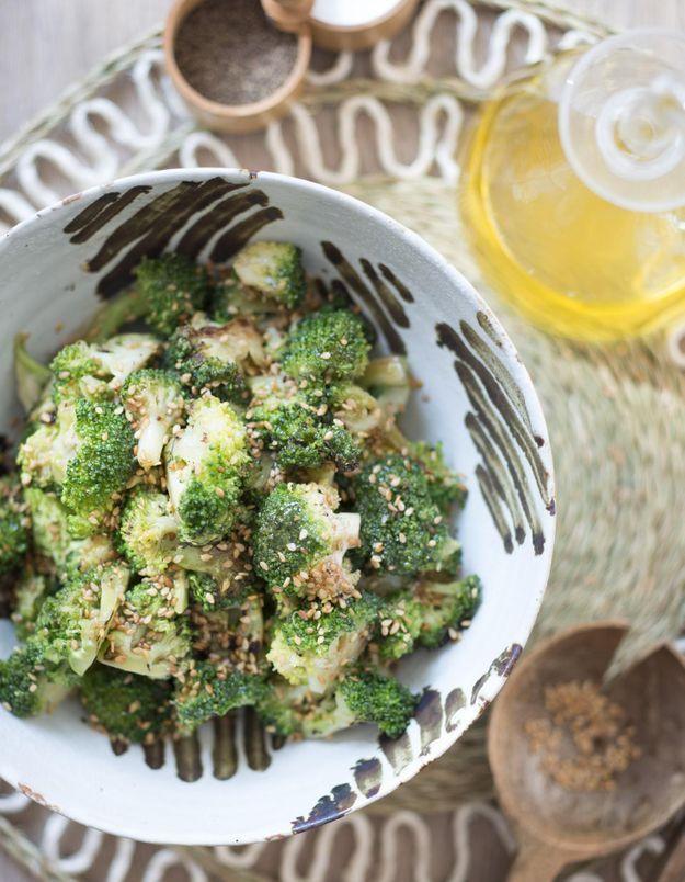 Salade de brocoli au sésame
