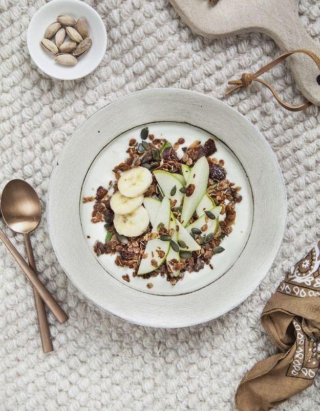 Surfeur granola bowl