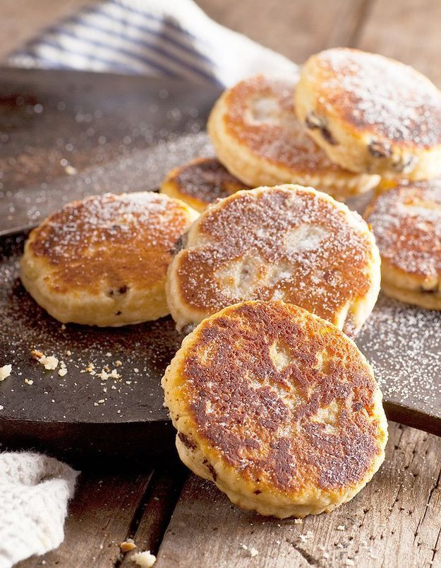 Welsh cakes à la noix muscade des sœurs Scotto