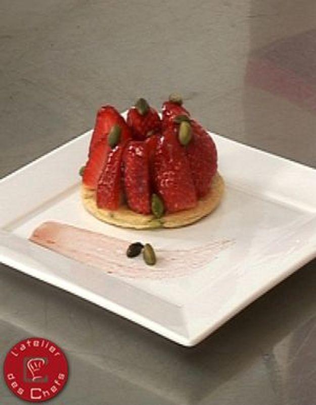 [VIDEO] L'atelier des Chefs : tarte fine aux fraises et pistaches