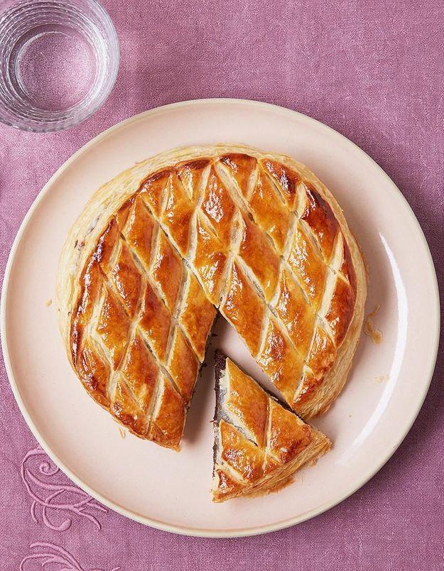 La galette des rois pistache chocolat de Gontran Cherrier