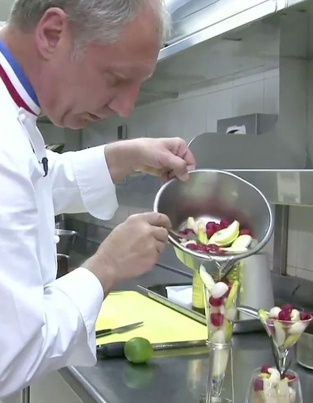 [VIDEO] La salade de fruits étoilée d'Eric Frechon