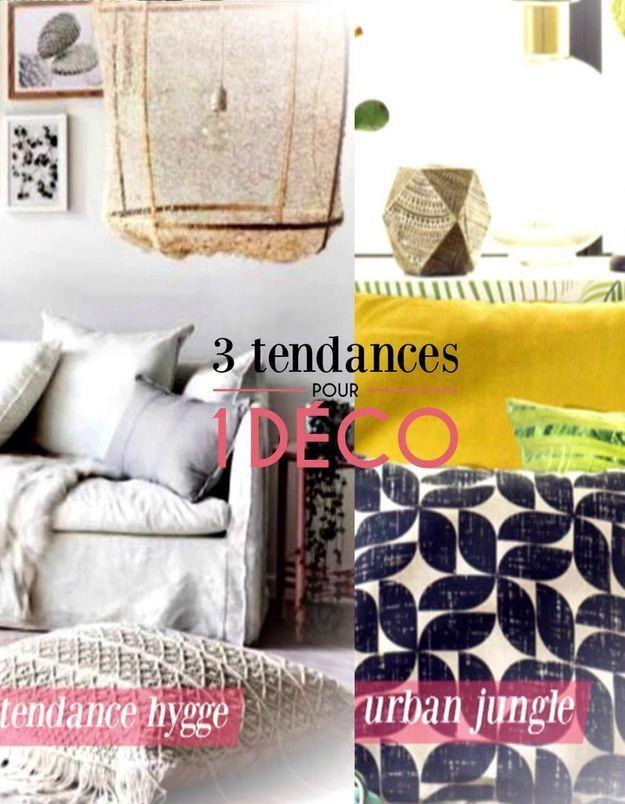 3 Tendances pour 1 Déco - Le style Urban Jungle et Hygge !
