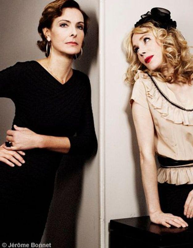 Carole Bouquet et Julie Depardieu : filles de joie !