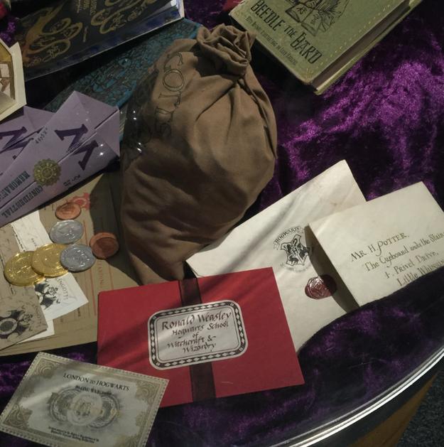 La lettre de Poudlard