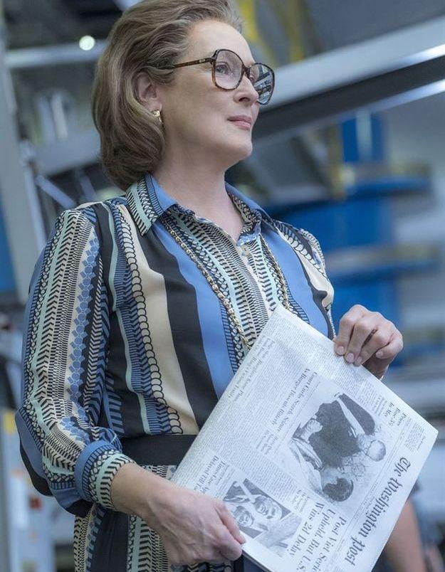 Meryl Streep dans Pentagon Papers