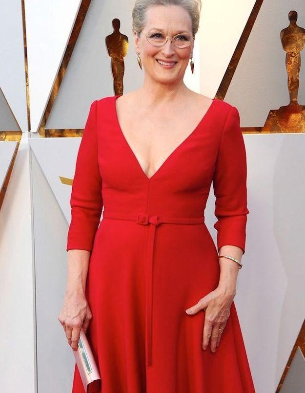 Meryl Streep aux Oscars 2018