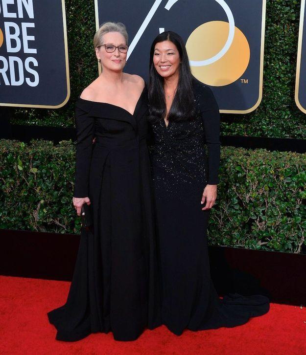 Meryl Streep aux Golden Globes 2018