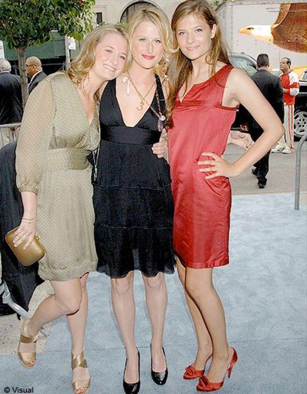 Meryl Streep et ses filles : Mary, Grace et Louisa.