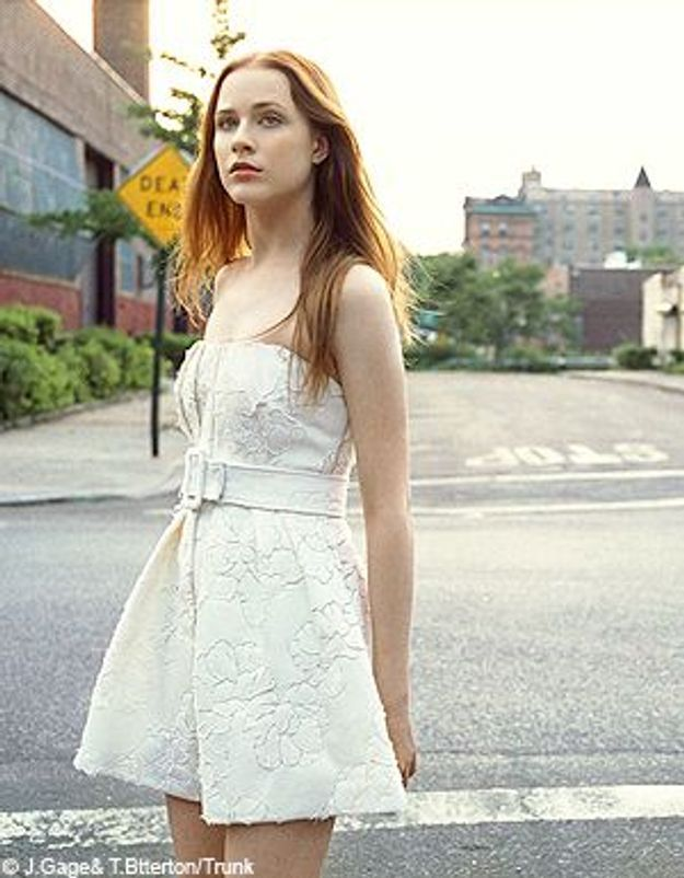 On adore... Evan Rachel Wood