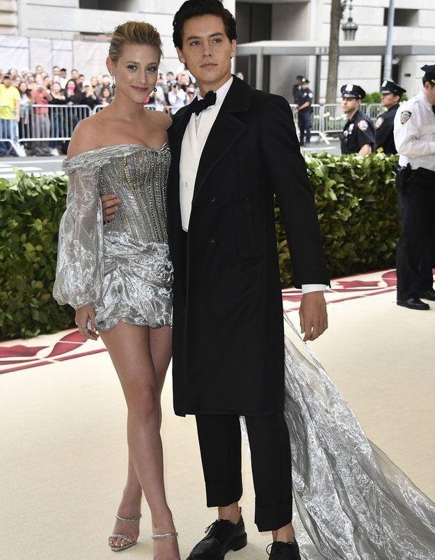 Cole Sprouse et sa petite amie l'actrice Lili Reinhart
