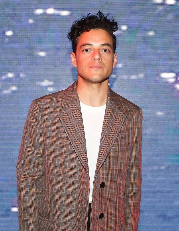 Rami Malek à un défilé de mode