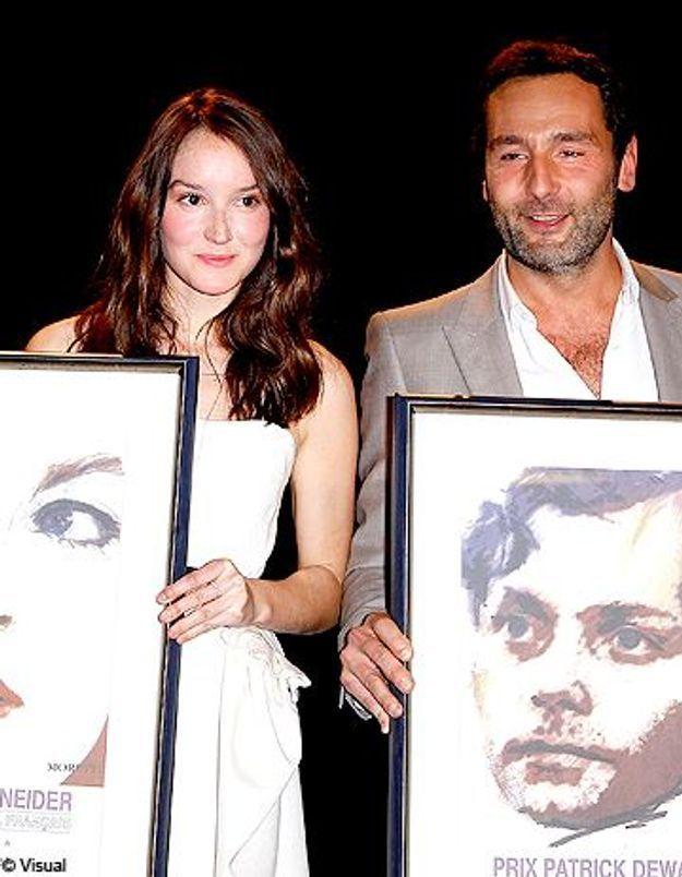 Anaïs Demoustier et Gilles Lellouche, lauréats des prix Romy Schneider et Patrick Dewaere