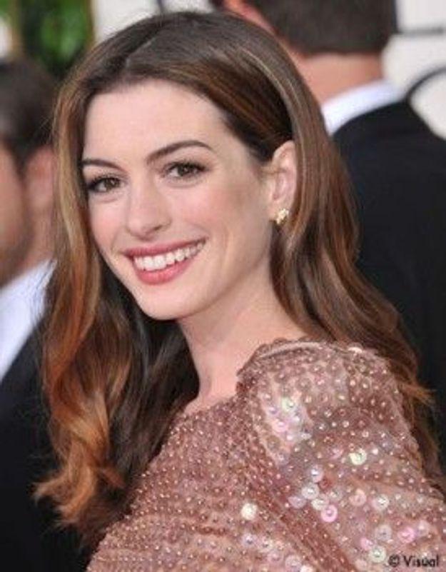 Anne Hathaway est la nouvelle Catwoman