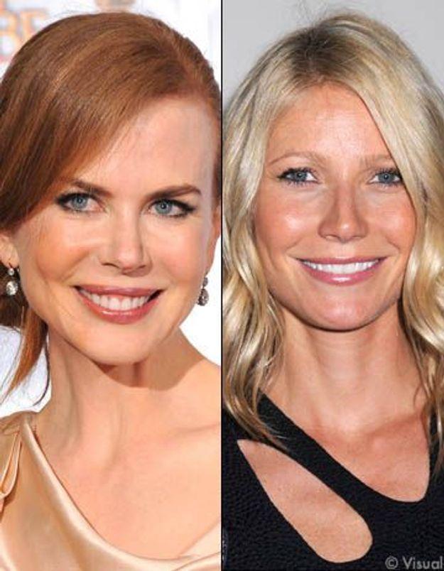 Après Charlize Theron, Gwyneth Paltrow lâche Nicole Kidman