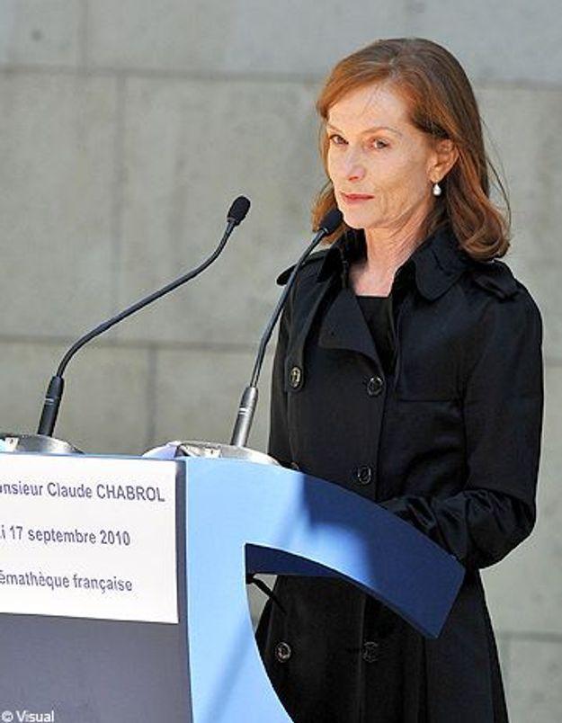 Claude Chabrol : l'hommage émouvant d'Isabelle Huppert