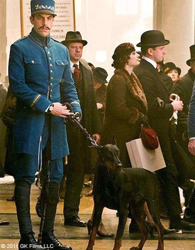 Colliers d'or: le chien Uggie face à un concurrent de taille