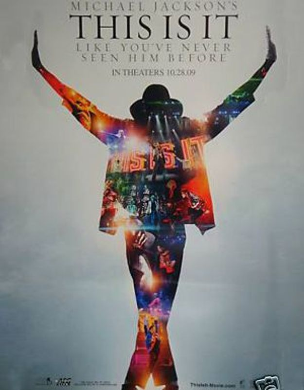 Découvrez l'affiche du film sur Michael Jackson !