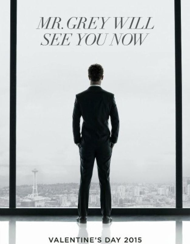 « Fifty Shades of Grey » dévoile une affiche : le sexy Christian Grey vous attend