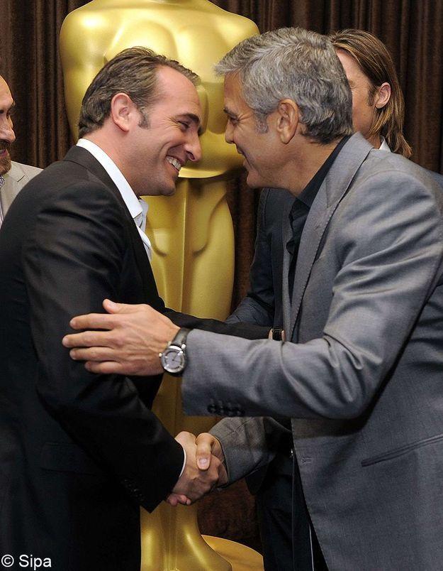 George Clooney / Jean Dujardin : nouveau duo du cinéma hollywoodien ?