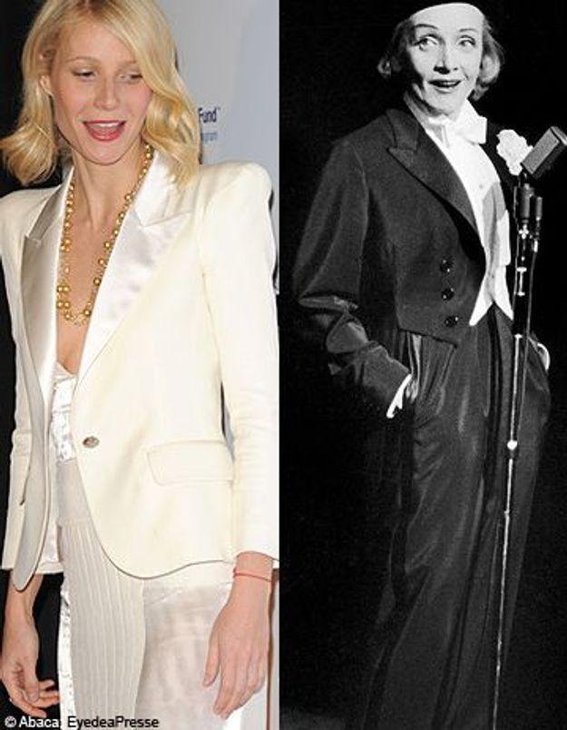Gwyneth Paltrow dans la peau de Marlène Dietrich