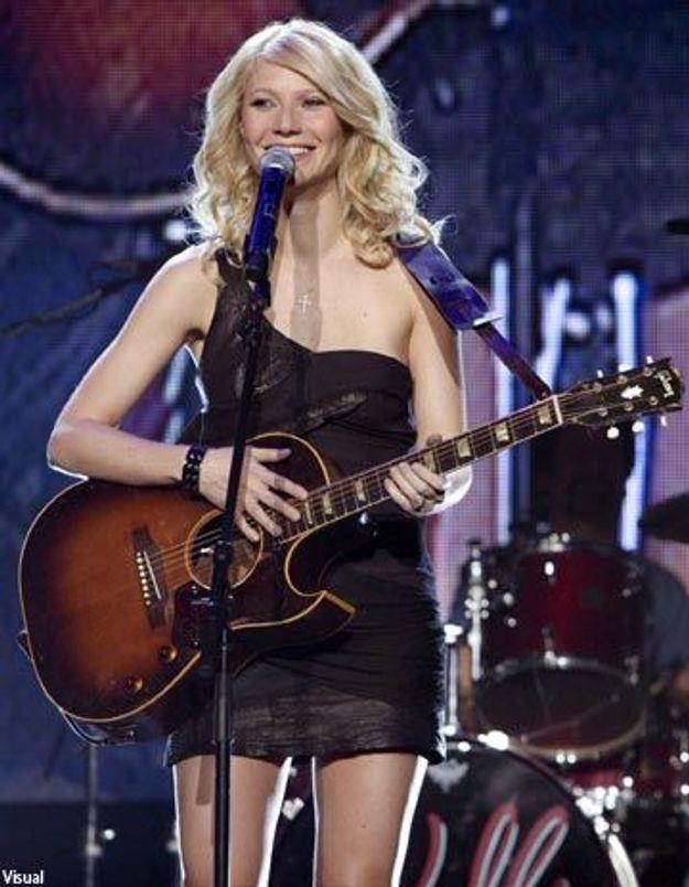 Gwyneth Paltrow se met à la chanson