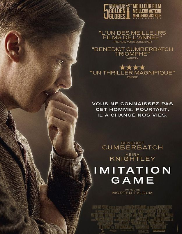 « Imitation Game » : un oscar pour Benedict Cumberbatch ?