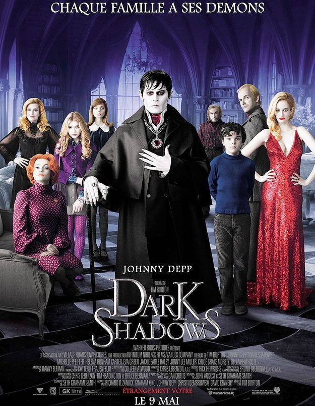 """""""Dark Shadows"""" : j'y vais pour Eva Green qui vole la vedette à Johnny Depp"""