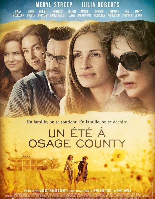 « Un été à Osage County » : Julia Roberts, Meryl Streep et leur crêpage de chignon