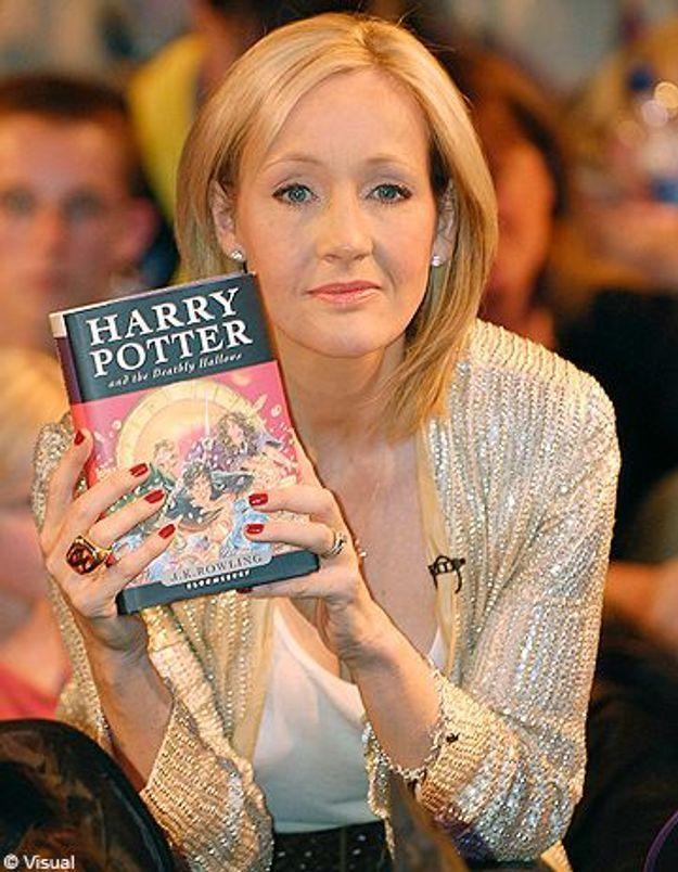 JK Rowling, une suite pour Harry Potter?