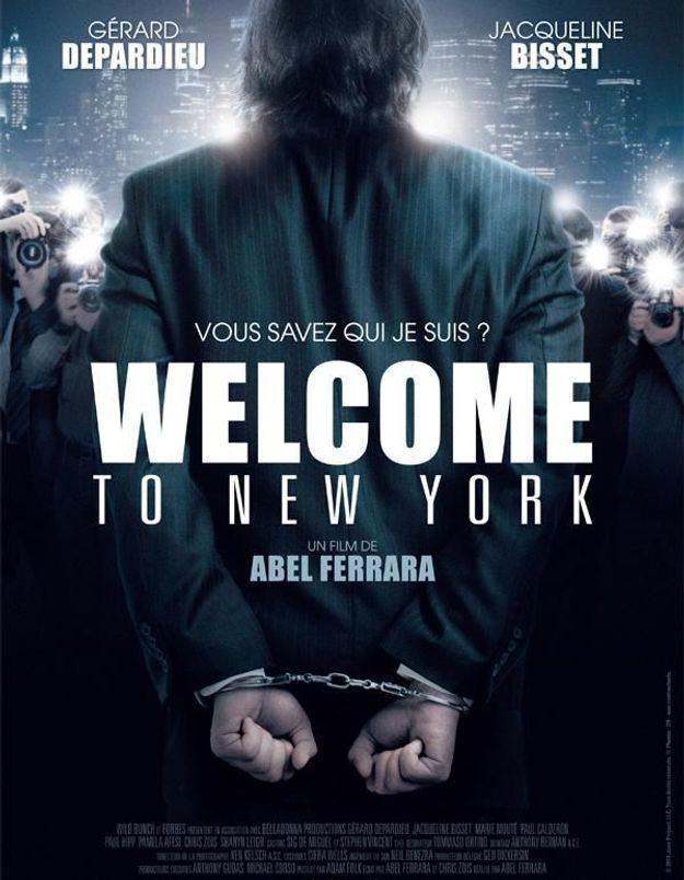 Affaire DSK, découvrez Gérard Depardieu sur l'affiche de Welcome to New York