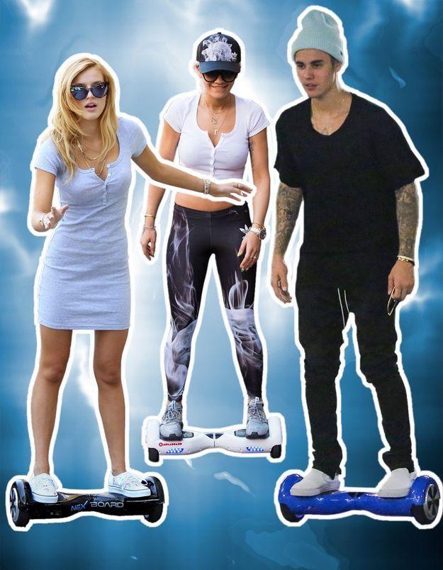 L'hoverboard : le skate électrique de « Retour vers le futur » séduit les stars !