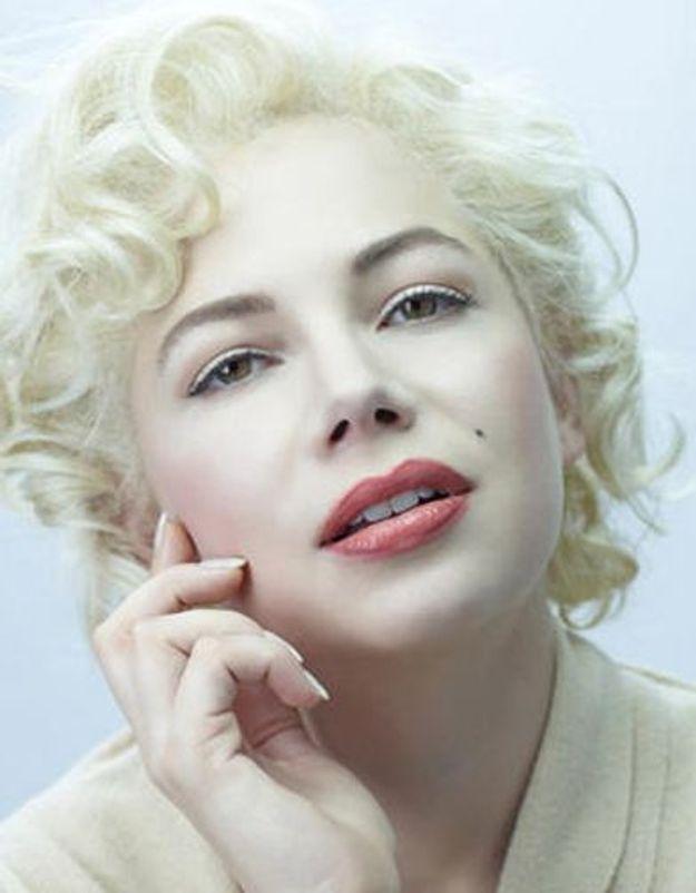 La métamorphose de Michelle Williams en Marilyn Monroe