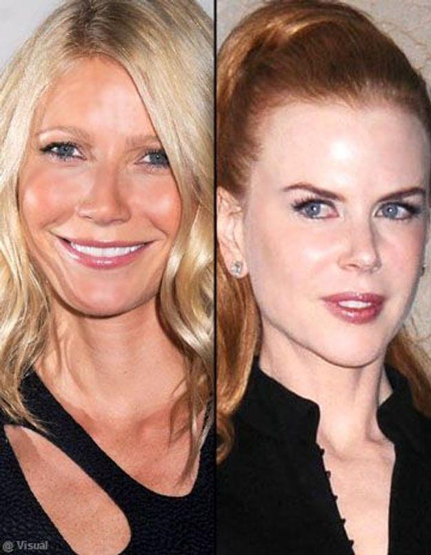 Le prochain rôle de Nicole Kidman ? Séduire Gwyneth Paltrow