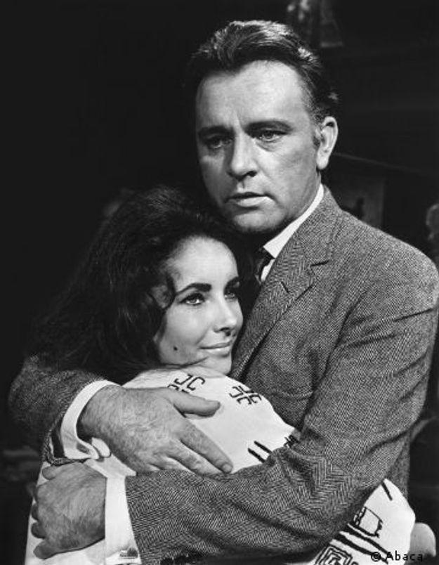 Les amours d'Elizabeth Taylor et Richard Burton au cinéma