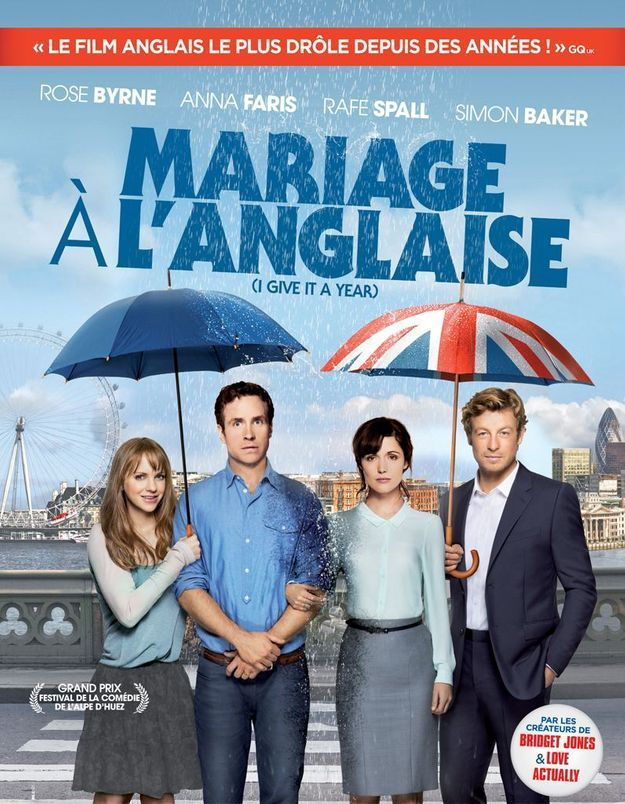 «Mariage à l'anglaise»: une comédie made in Britain!