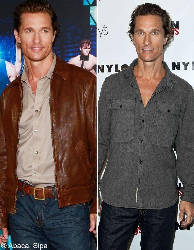 Matthew McConaughey a perdu 15 kilos