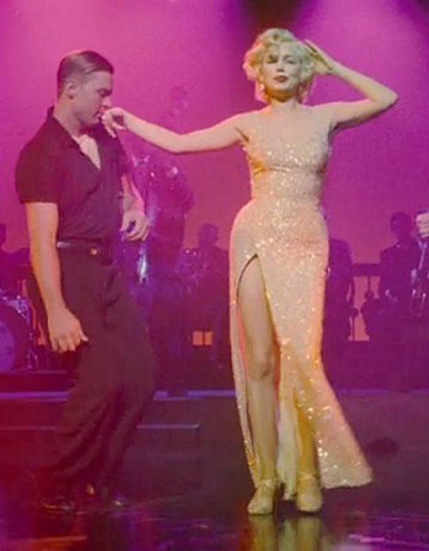 Michelle Williams, bluffante, chante comme Marilyn Monroe !
