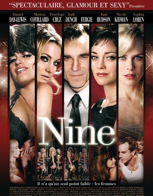 « Nine » de Rob Marshall : j'y vais ? j'y vais pas ?