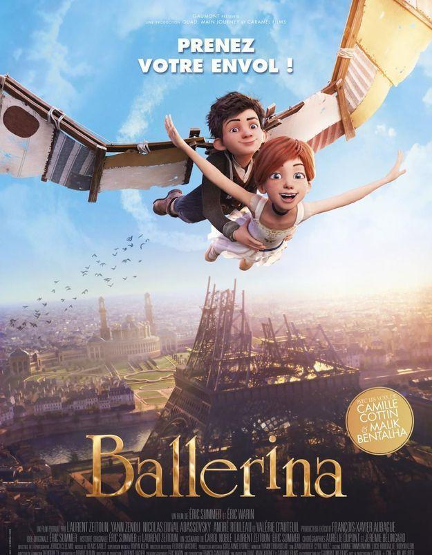 On a testé pour vous « Ballerina » avec deux garçons de 3 et 7 ans