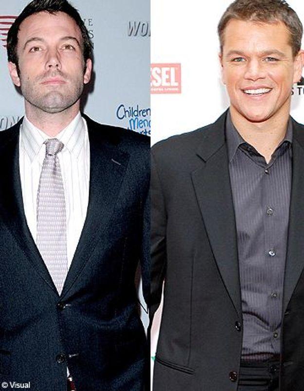 Quand Ben Affleck et Matt Damon s'échangent leurs femmes