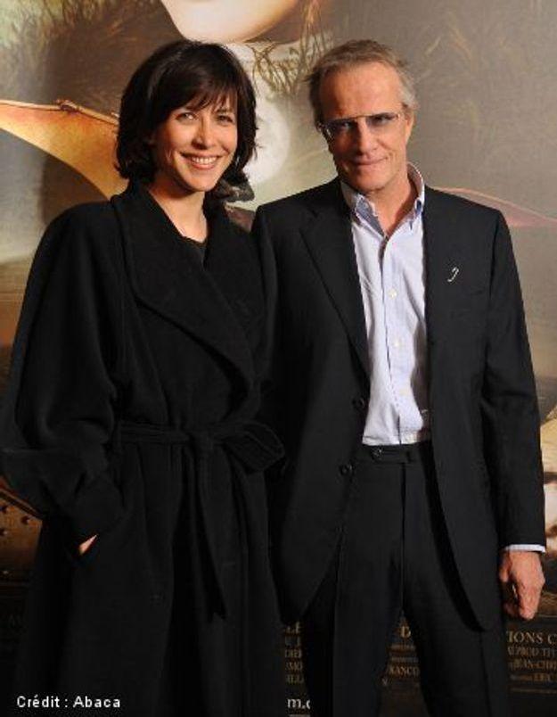 Sophie Marceau récompense son compagnon Christophe Lambert