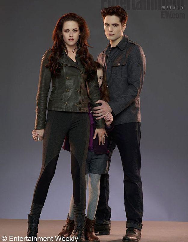 « Twilight 5 » : découvrez la fille d'Edward et Bella
