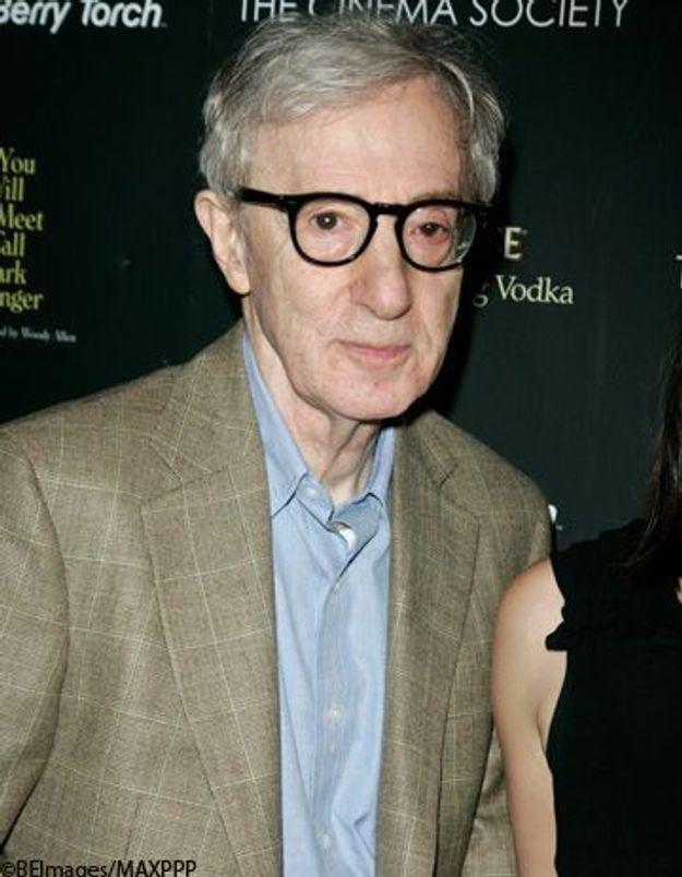 Woody Allen participe au tournage d'un film français