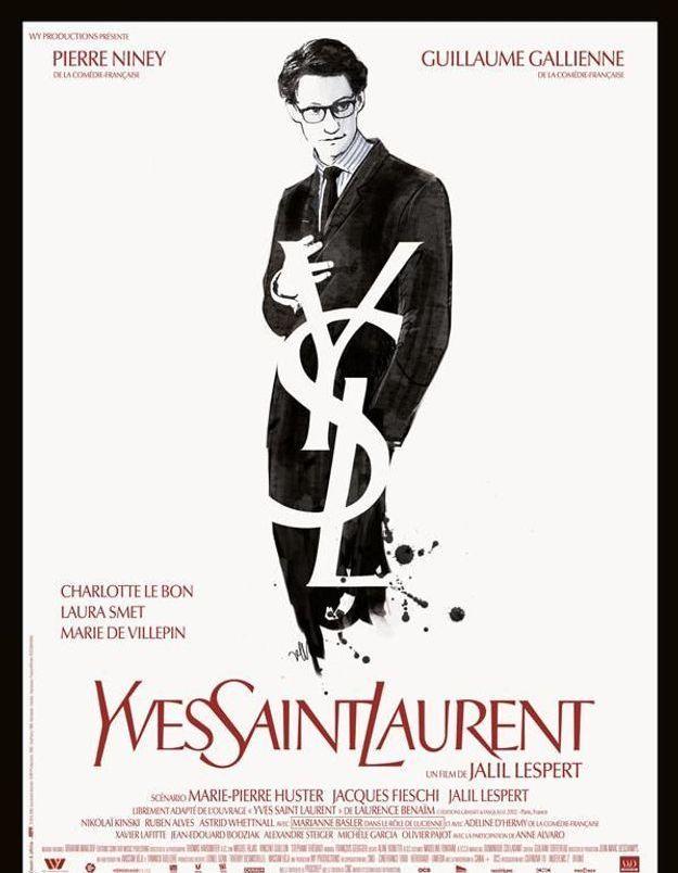 « Yves Saint Laurent » avec Pierre Niney : découvrez l'affiche !