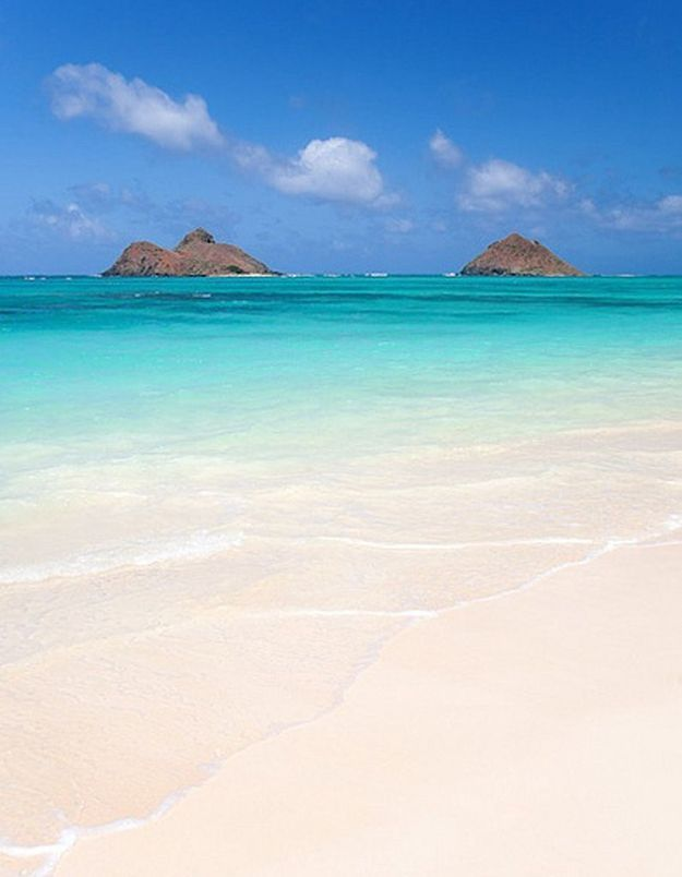 Na Mokulua, à Hawaï