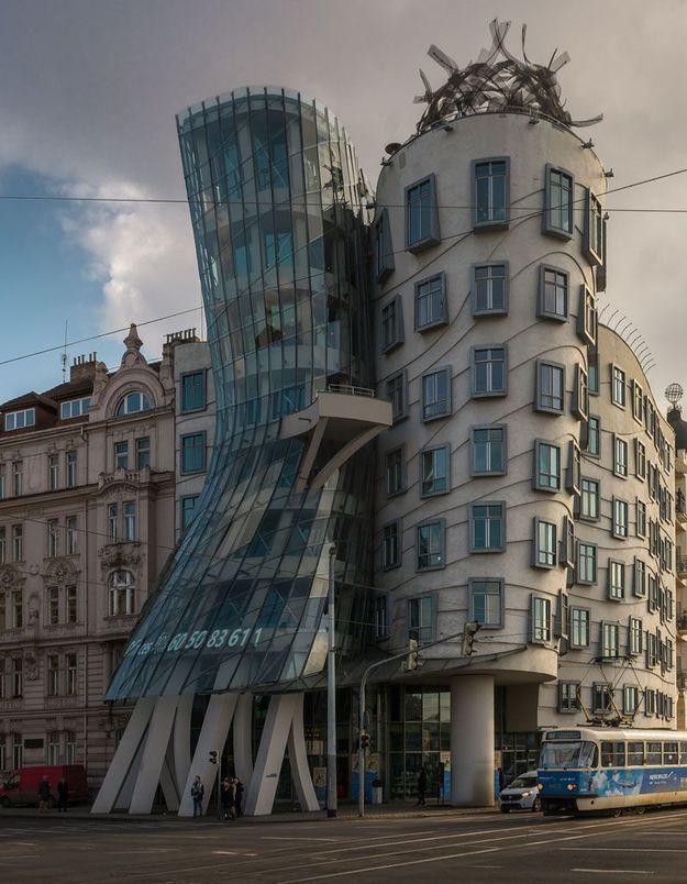 La Maison dansante à Prague, en République Tchèque