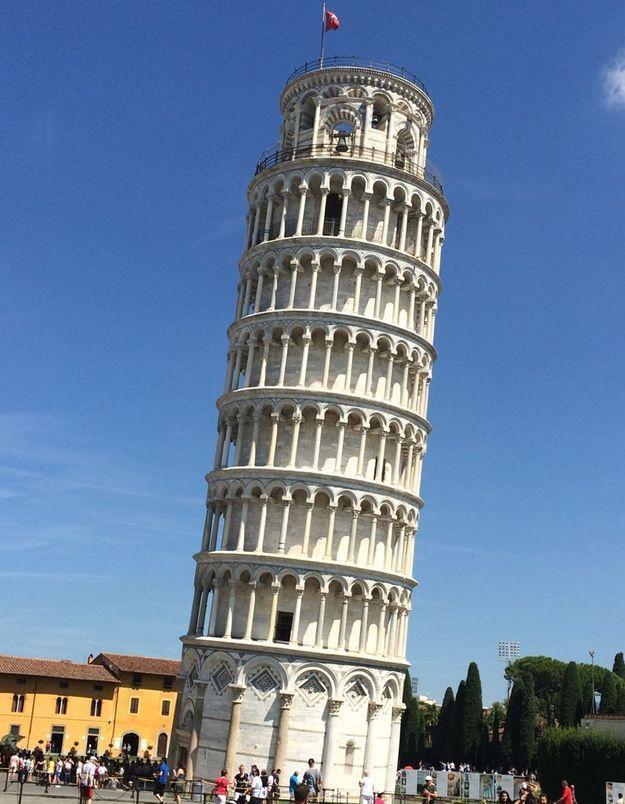 La Tour penchée à Pise, en Italie