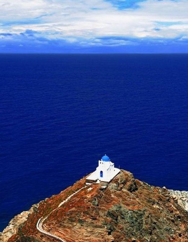 Ile de Sifnos, en Grèce