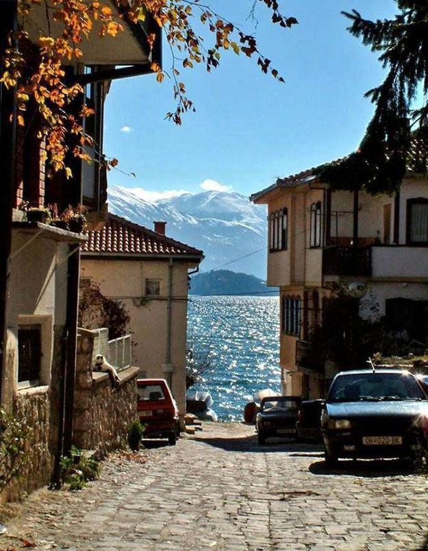 Ohrid, en Macédoine